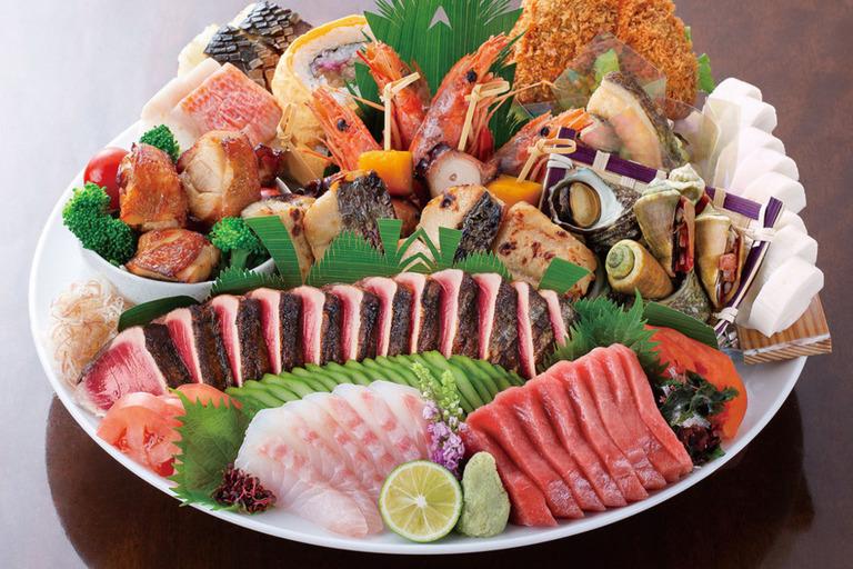 ねぼけ皿鉢(さわち)※3〜4人前