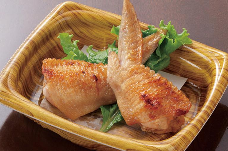 四万十鶏の手羽先餃子(2人前)