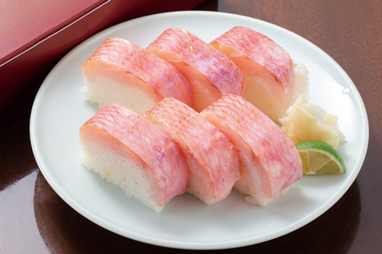 金目鯛棒寿司